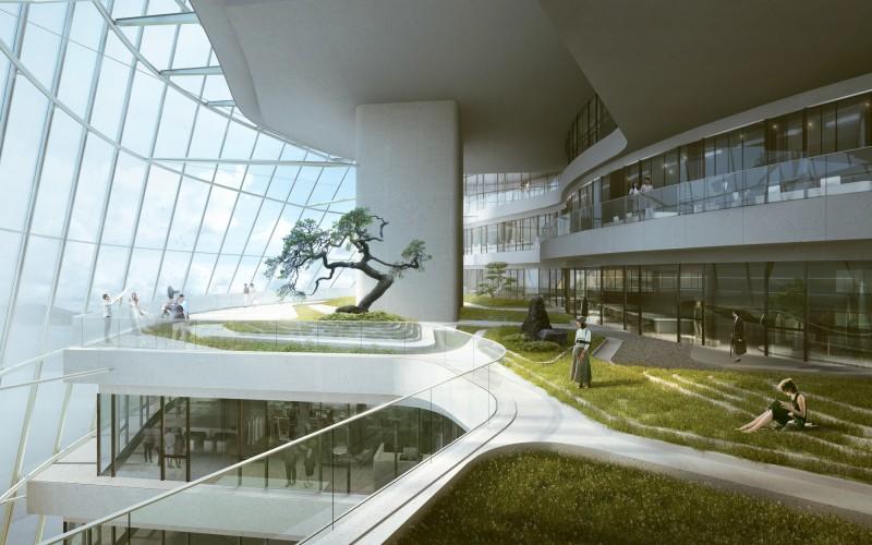 07_MAD_Xinhee Design Center_Rendering