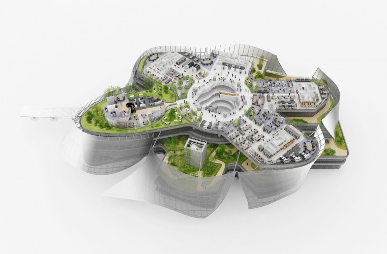 MAD_Xinhee Design Center_Sectional model