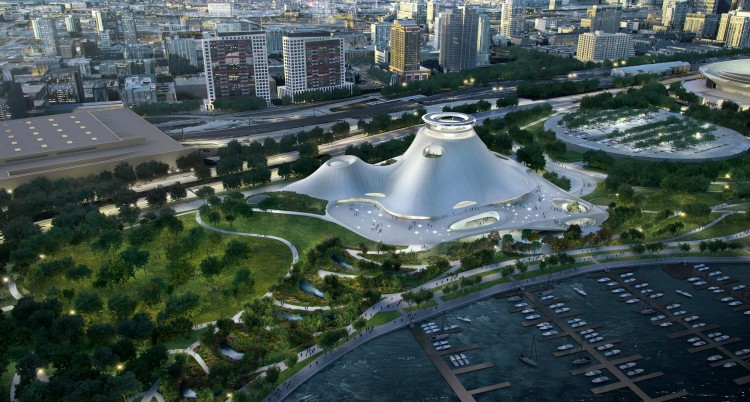 MAD_Lucas-Museum-of-Narrative-Art_Bird's-Eye-View