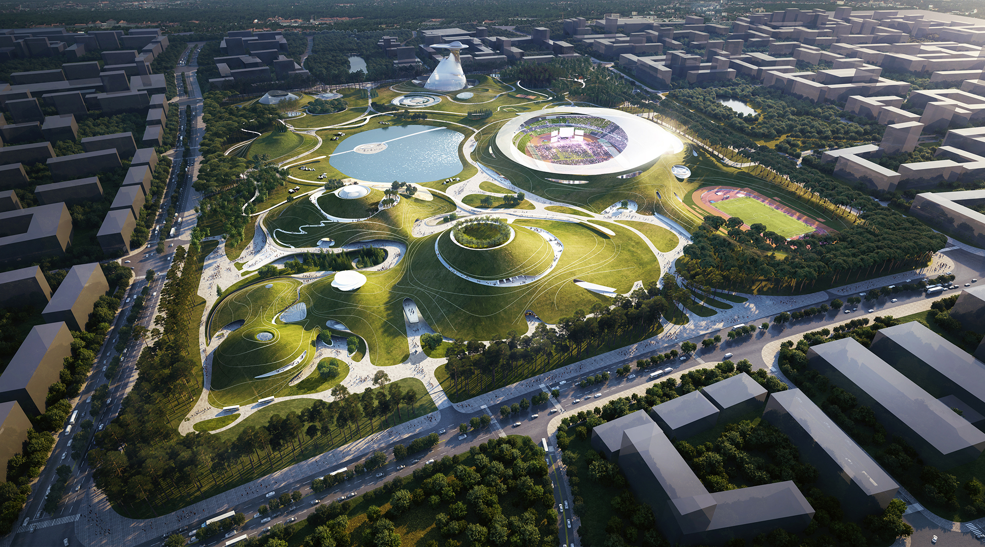 01_MAD_Quzhou Sports Campus