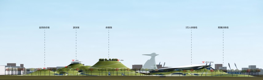 25_MAD_Quzhou Sports Campus_SD_Elevation