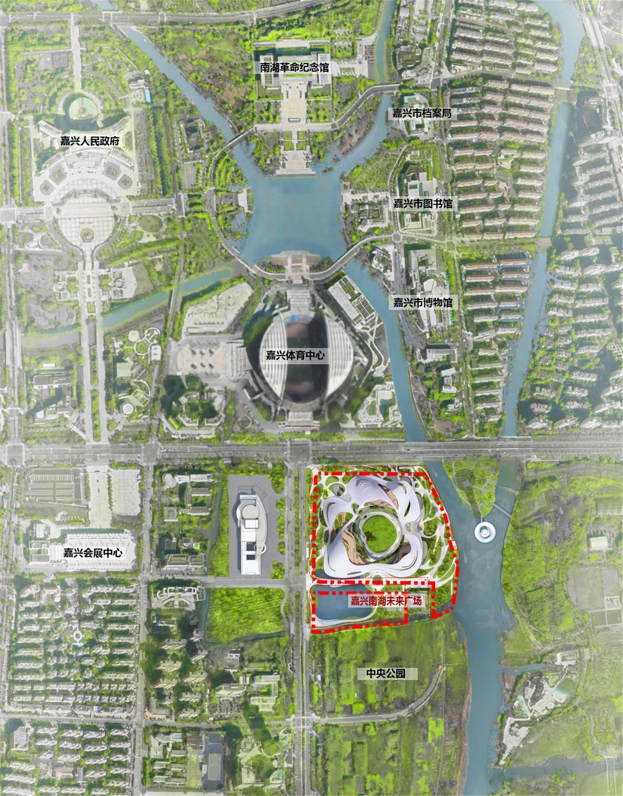 16_Jiaxing Nanhu Future Plaza_Regional Plan