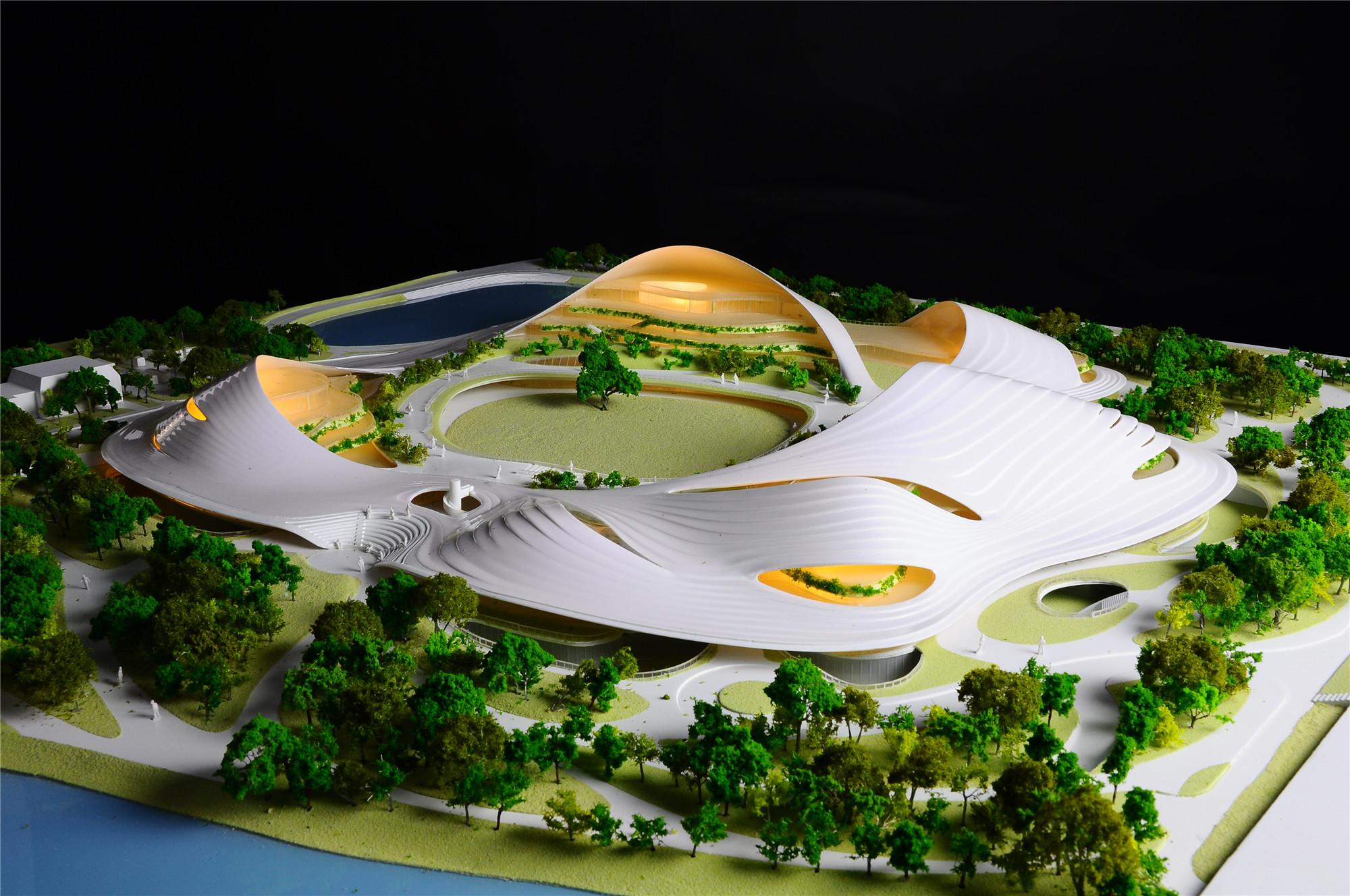 18_Jiaxing Nanhu Future Plaza_model_by Tim