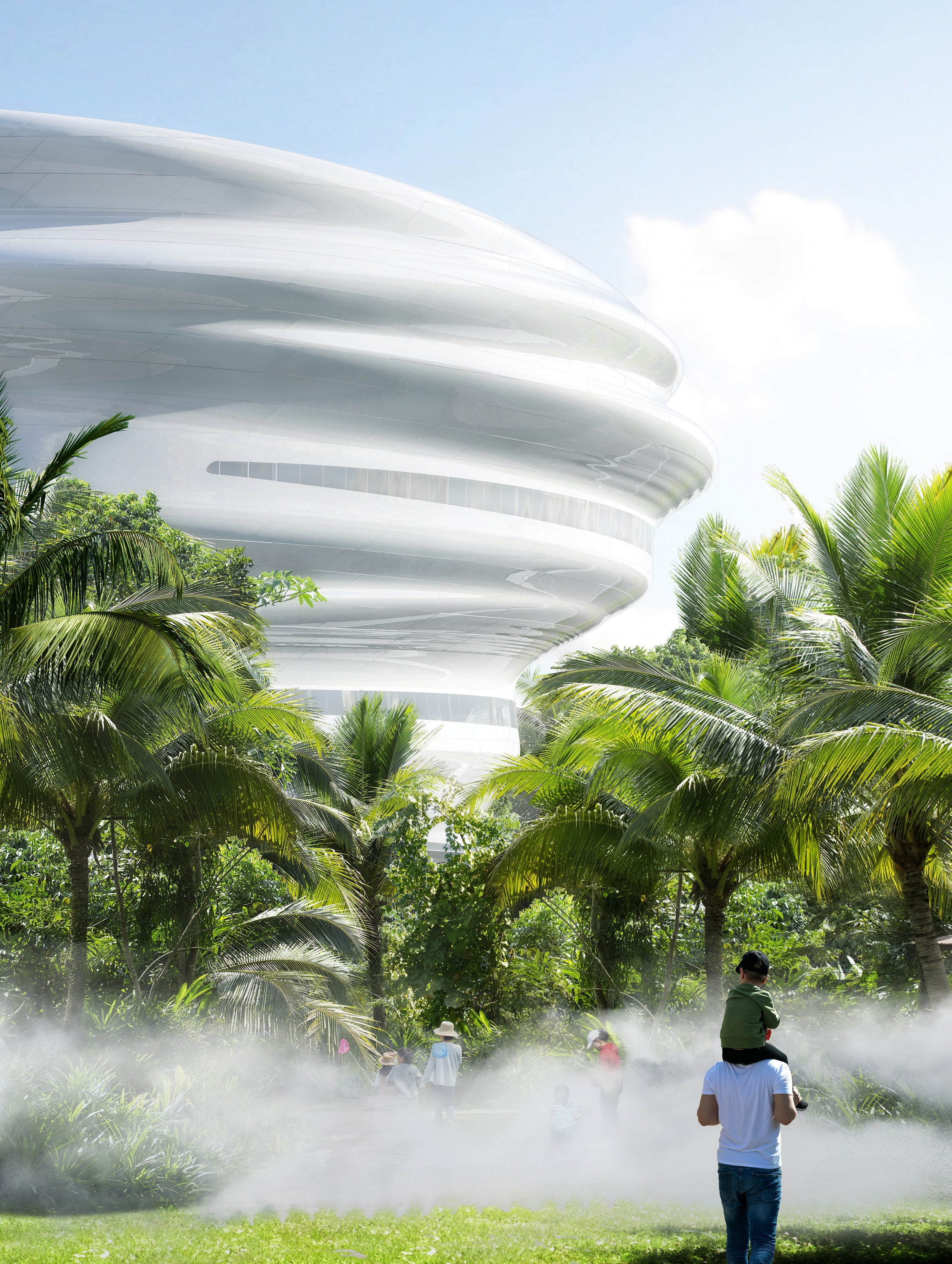 03_MAD_Hainan Science and Technology Museum_architecture with nature