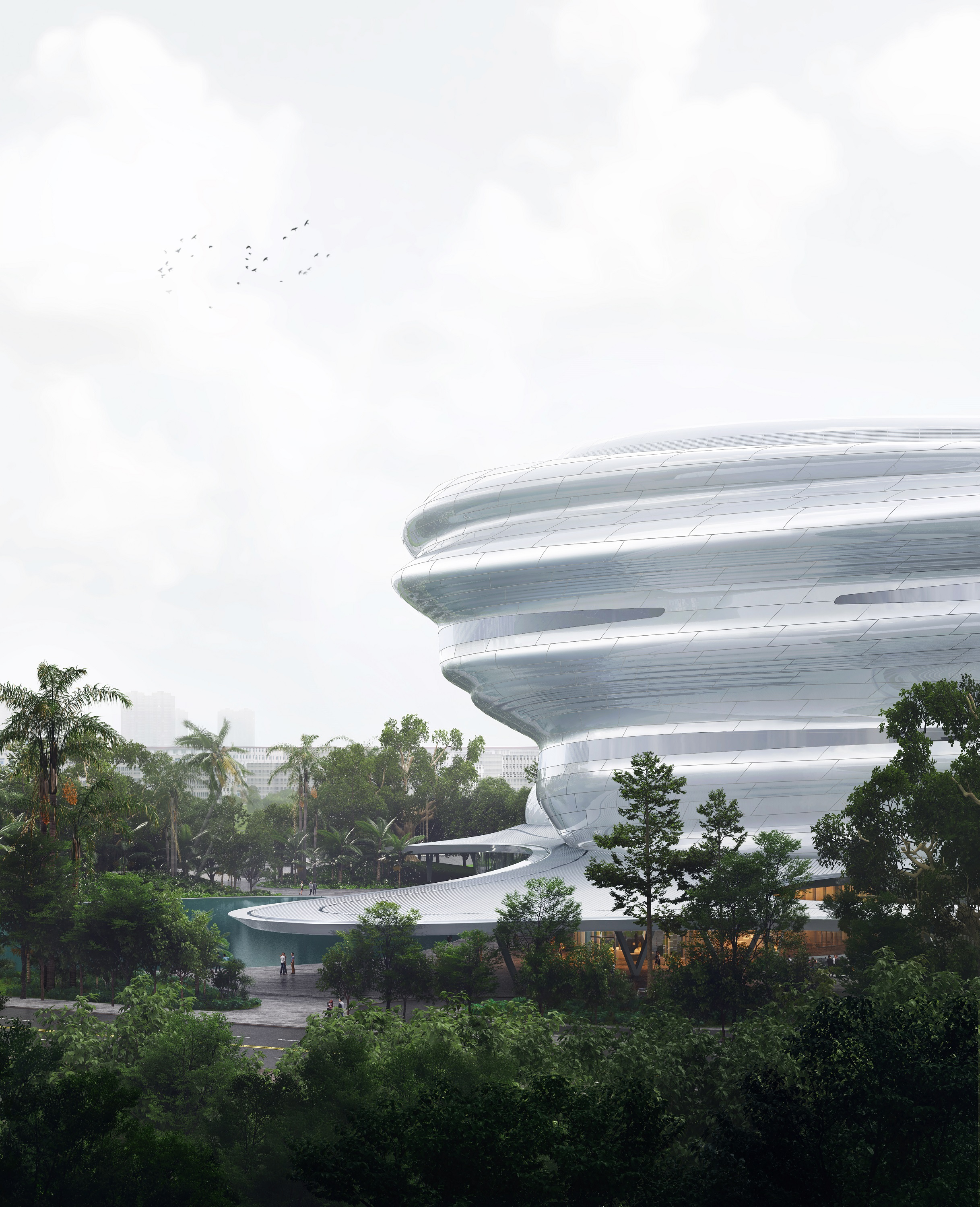 04_MAD_Hainan Science and Technology Museum_lateral
