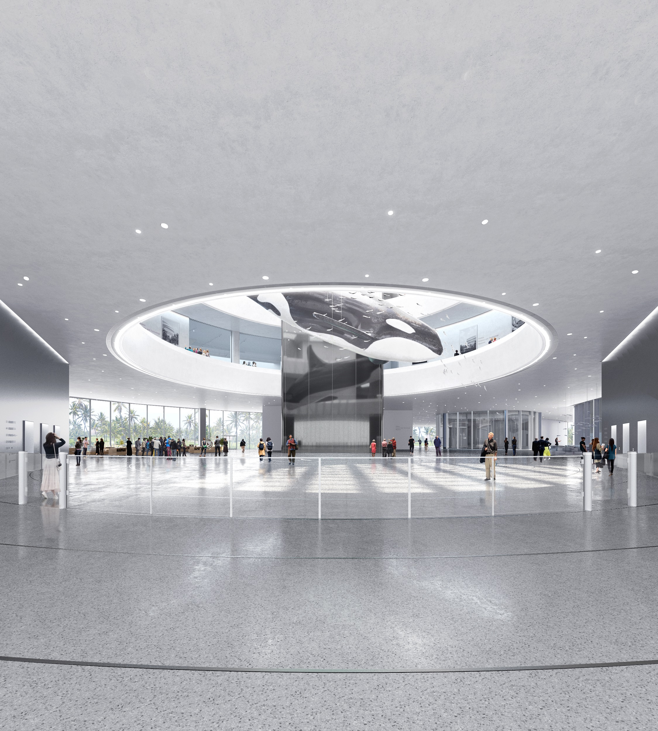 07_MAD_Hainan Science and Technology Museum_lobby