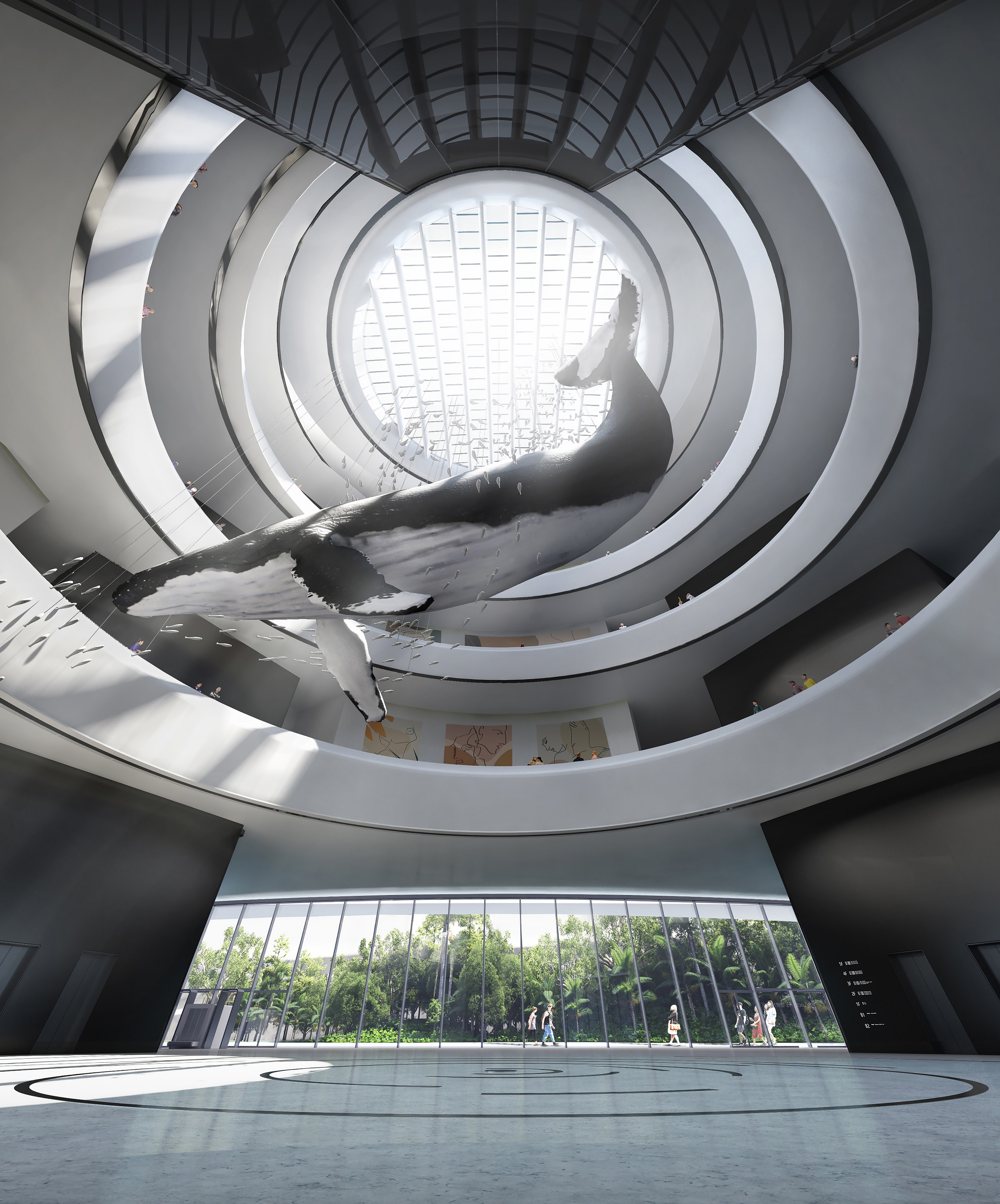 08_MAD_Hainan Science and Technology Museum_lobby 1