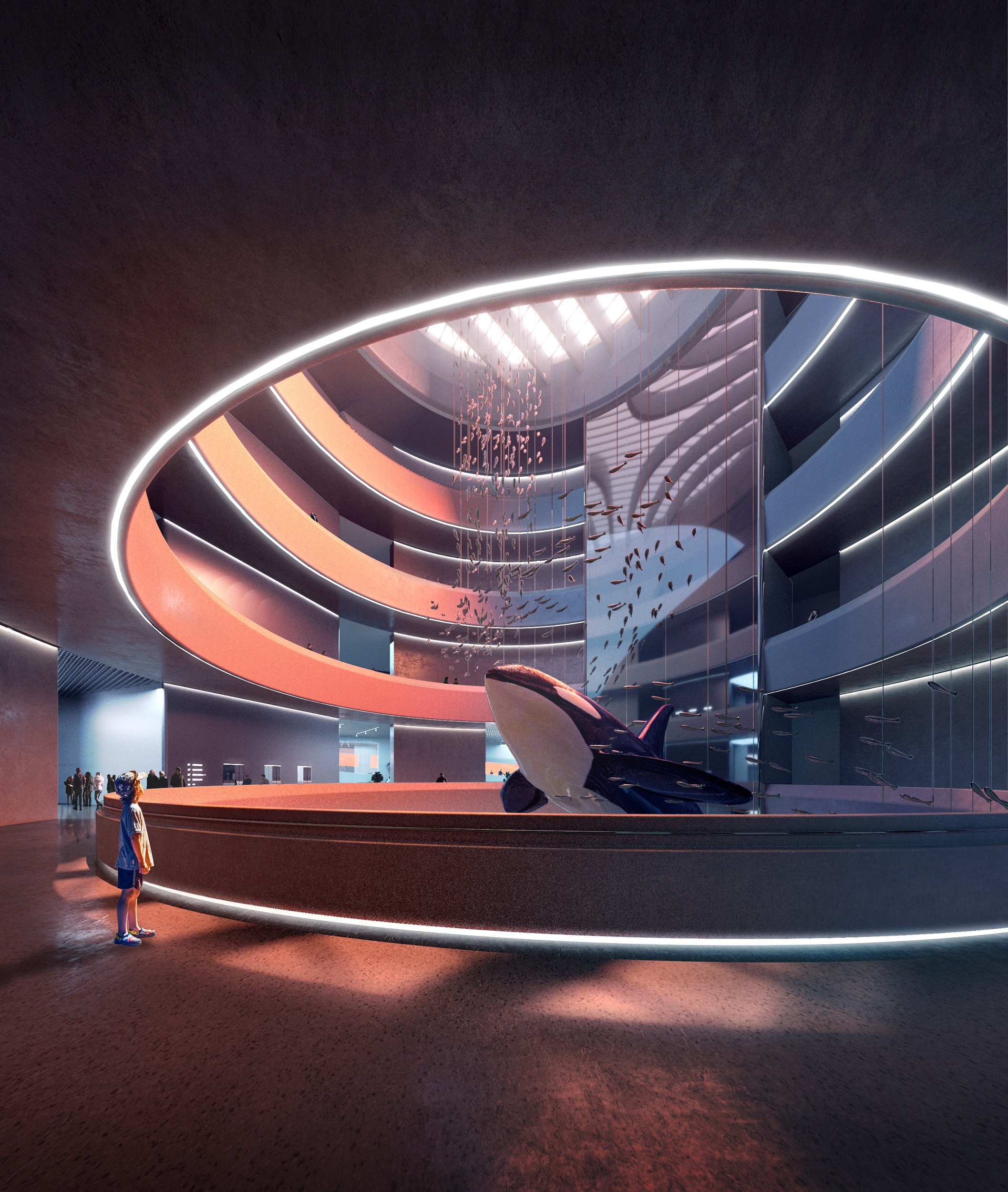 10_MAD_Hainan Science and Technology Museum_interior 1